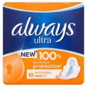 ALWAYS PODPASKI HIGIENICZNE ULTRA NORMAL PLUS 10SZT